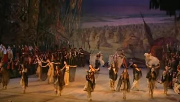 ダッタン人の踊りと合唱 (ボロディン)