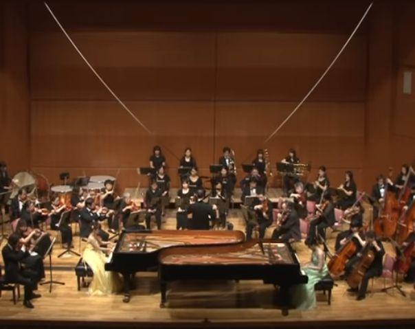 2台のピアノのための協奏曲(プーランク)